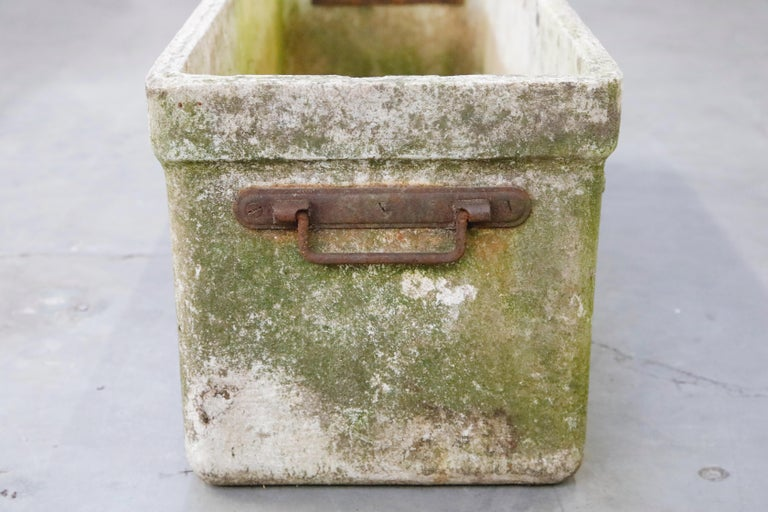 Willy Guhl for Eternit Large Rectangular Planter with Handles, circa 1968 For Sale 10
