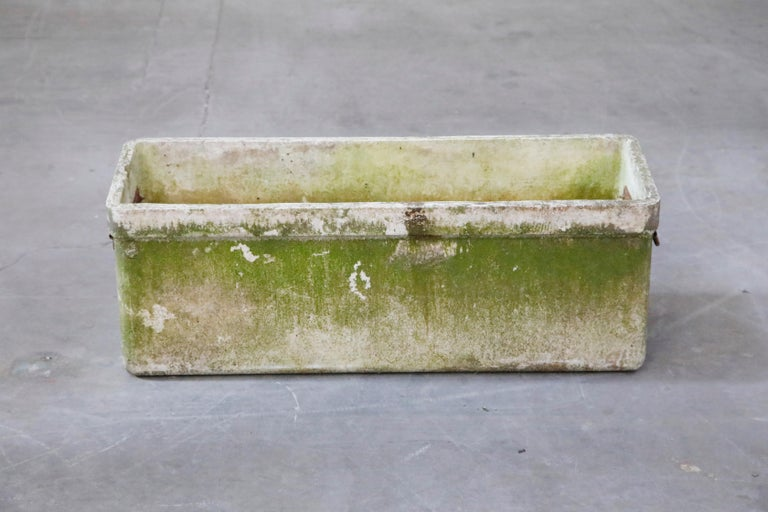 Willy Guhl for Eternit Large Rectangular Planter with Handles, circa 1968 For Sale 2