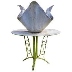 Willy Guhl for Eternit, Mid-Century Modern Concrete Garden Handkerchief Planter