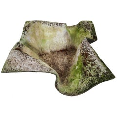 Willy Guhl Handkerchief Planter / Garden Sculpture