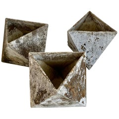 Willy Guhl Hexagon Cube Planters