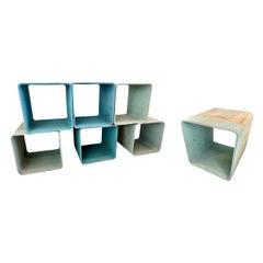 Willy Guhl Modular Cement Cubes