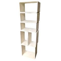 Willy Guhl Modular Six-Piece Bookcase