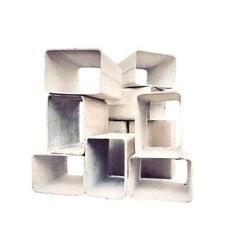 Willy Guhl Modular Ten-Piece Bookcase