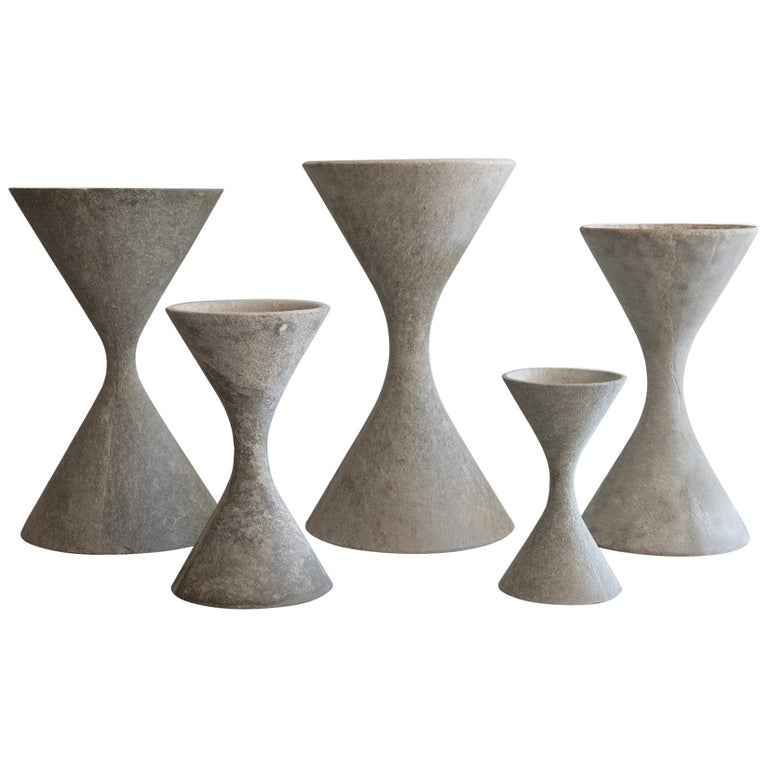 Modern Willy Guhl Planters For Sale