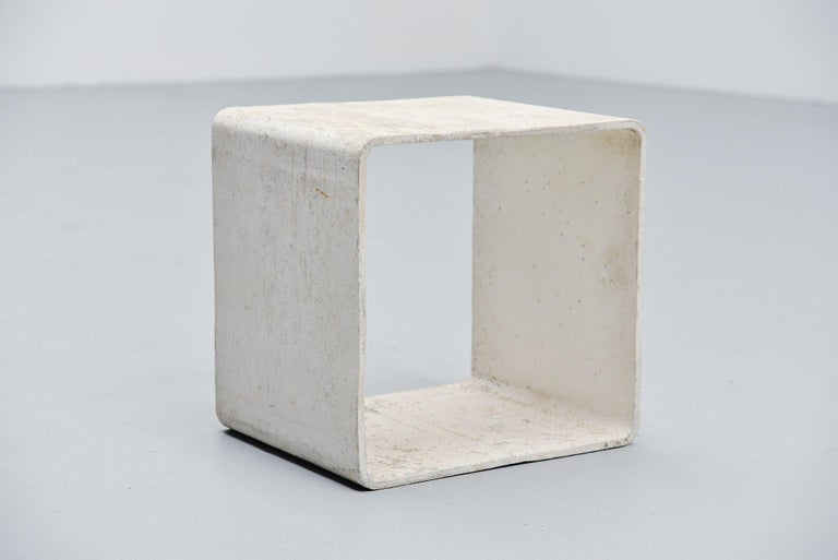 Mid-Century Modern Willy Guhl Side Table Eternit AG Switzerland, 1954 For Sale
