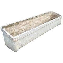 Willy Guhl Slanted Concrete Trough Planter