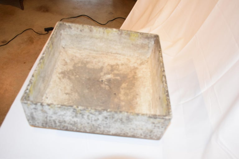 Willy Guhl Square Planter, Mid-20th Century For Sale 2
