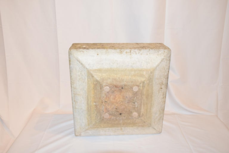 Willy Guhl Square Planter, Mid-20th Century For Sale 3