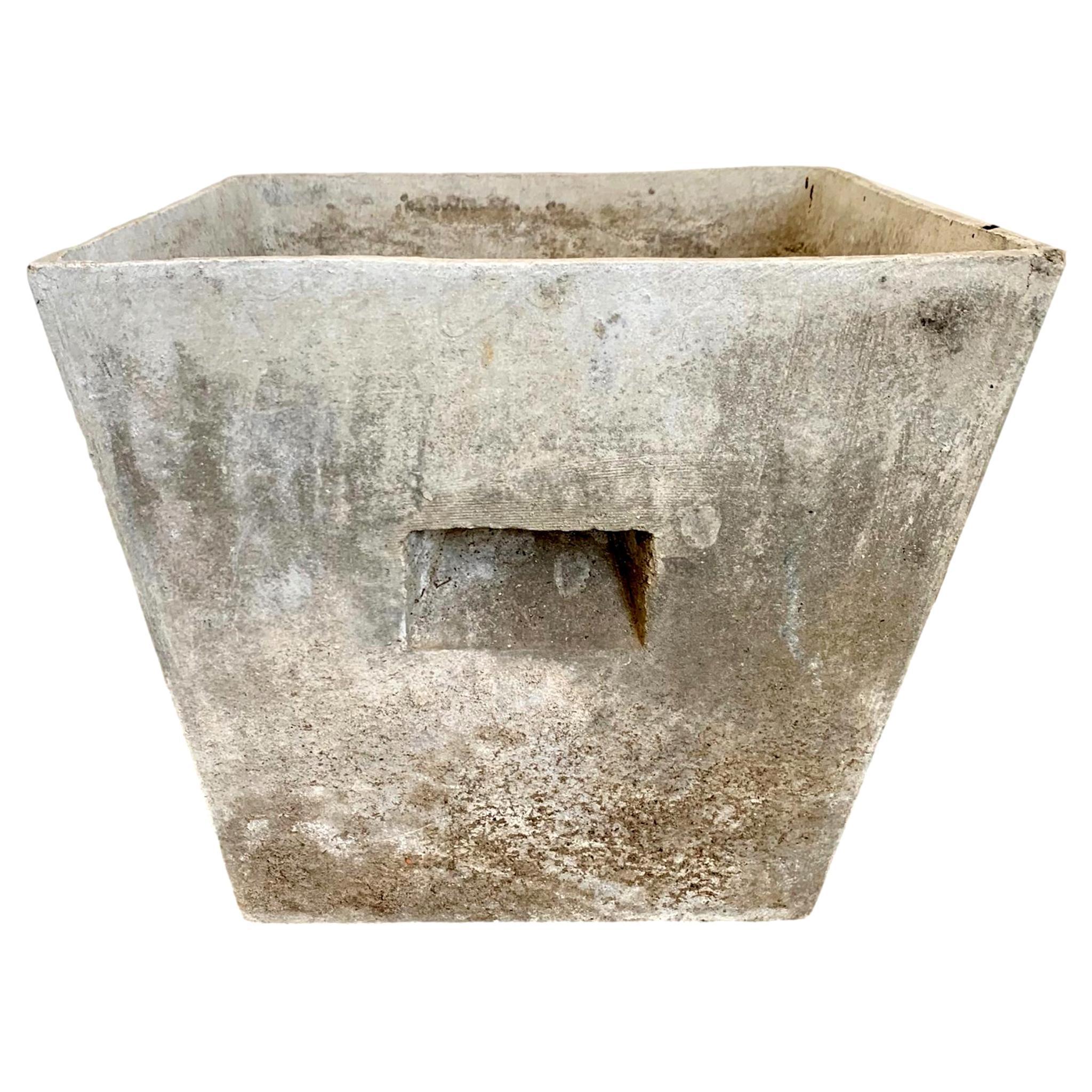 Willy Guhl Square Pot