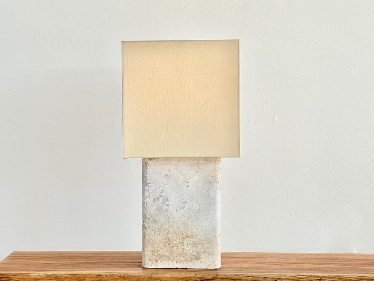 Cement Willy Guhl Table Lamp For Sale