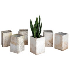 Willy Guhl Tall Cube Planters