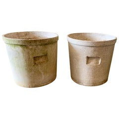 Willy Guhl Trash Bin Planters