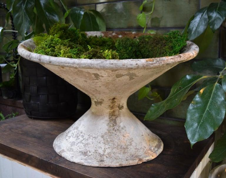 Mid-Century Modern Willy Guhl Vintage Tilted Planter For Sale