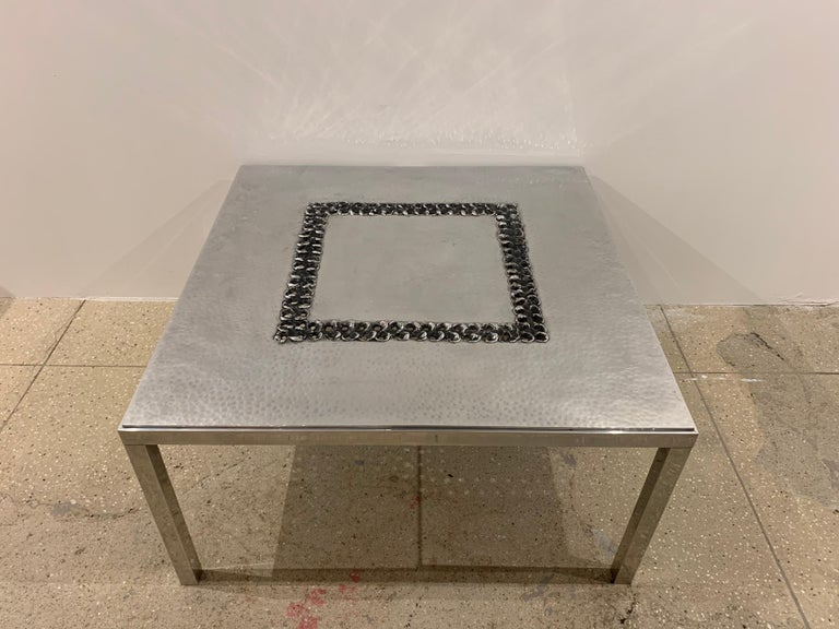 Willy Luckyx Aluclair Belgian One of a Kind 1970s Table For Sale 10