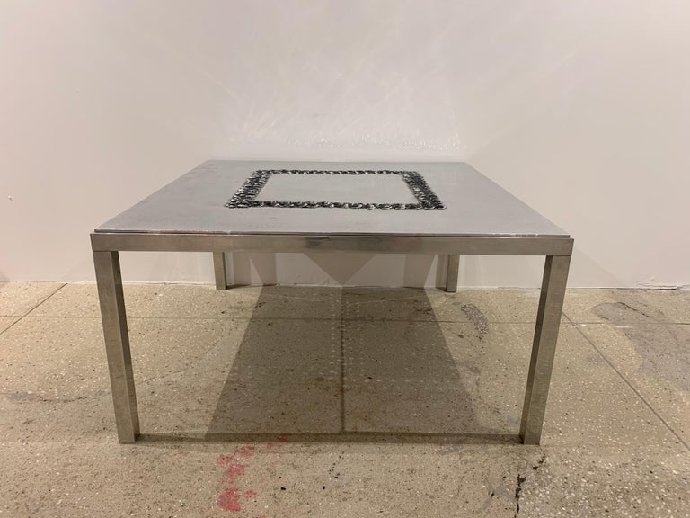 Willy Luckyx Aluclair Belgian One of a Kind 1970s Table For Sale 13