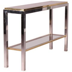 Willy Rizzo Bicolor Metal Console