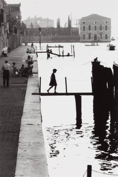 Fondamenta Nuove, Venice, 1959 by Willy Ronis, gelatin silver print, signed