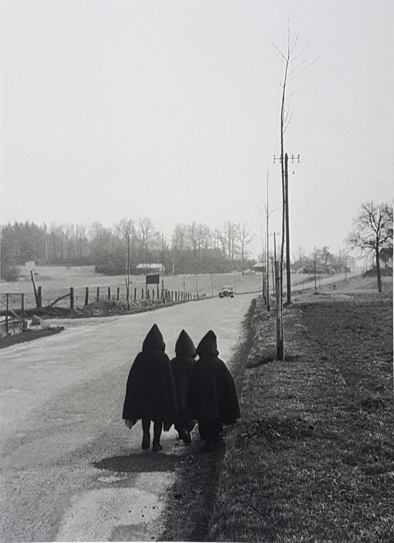 Lorraine - Willy Ronis, 20th Century, French Humanist Photography - Gray Black and White Photograph by Willy Ronis