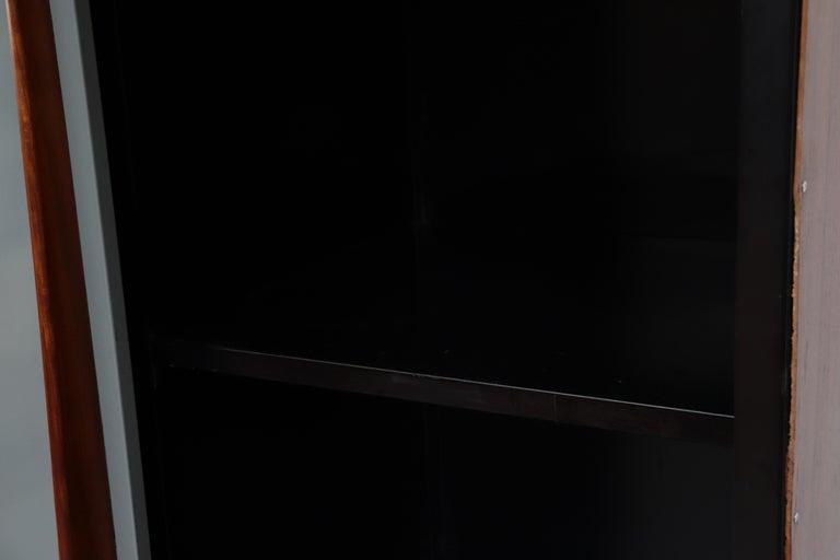 Willy Van Der Meeren Tall Metal Wardrobe for Tubax For Sale 5