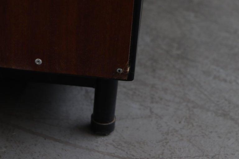 Willy Van Der Meeren Tall Metal Wardrobe for Tubax For Sale 10