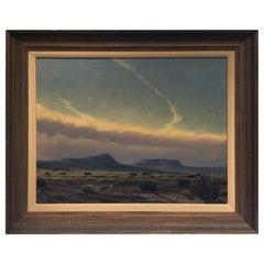 Wilson Hurley Desert Landscape Painting