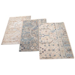 Wilton Collection Handwoven Wool Custom Modern Rug