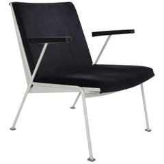 "Wim Rietvel ""Oase"" Lounge Chair for Ahrend De Cirkel, Dutch Minimalism, 1960s"
