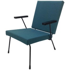 Wim Rietveld 1407 Lounge Chair for Gispen, 1950's