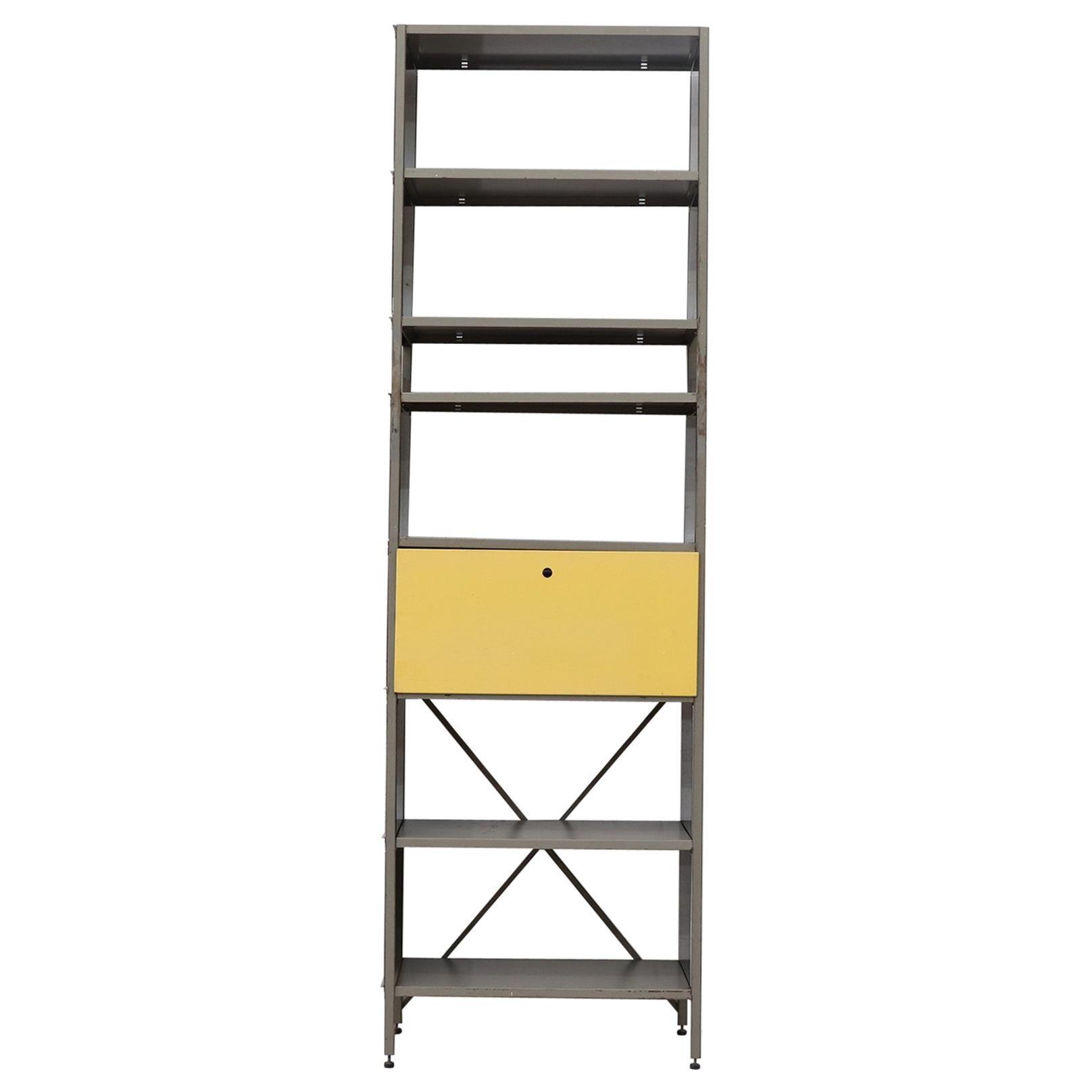 Wim Rietveld 663 Bookcase Cabinet for Gispen
