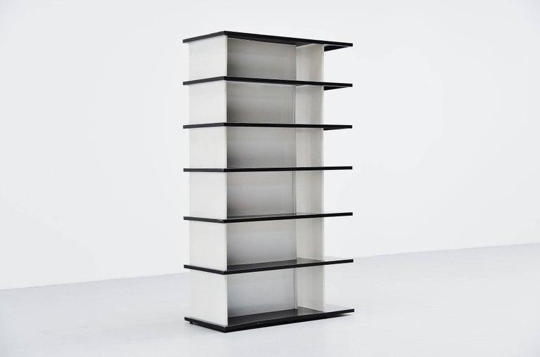 Mid-Century Modern Wim Rietveld Bookcase or Room Divider for De Bijenkorf, 1960 For Sale