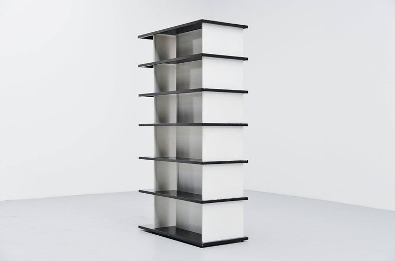 Wim Rietveld Bookcase or Room Divider for De Bijenkorf, 1960 In Excellent Condition For Sale In Roosendaal, Noord Brabant