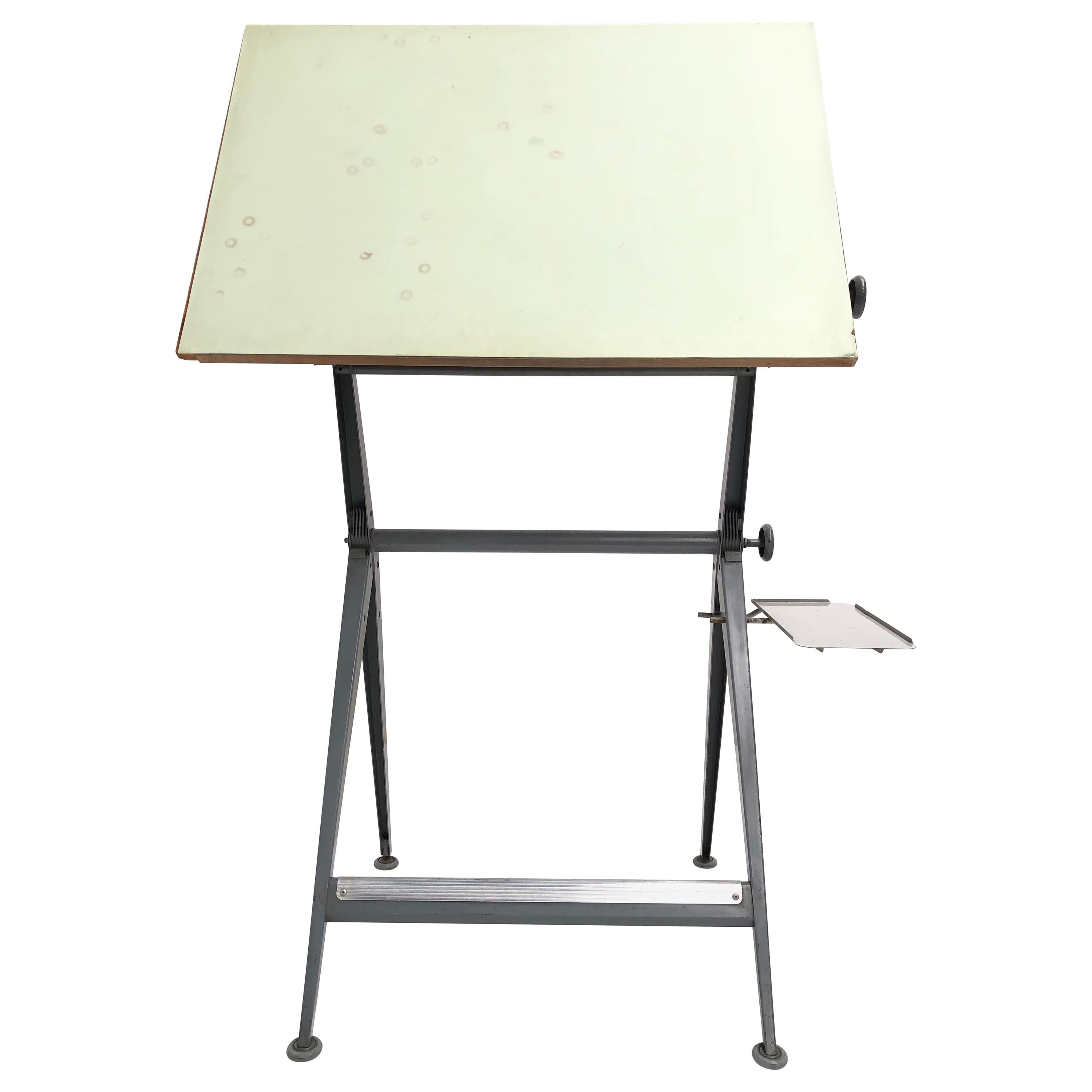 Wim Rietveld and Friso Kramer Reply Drafting Table 1959 Ahrend the Netherlands