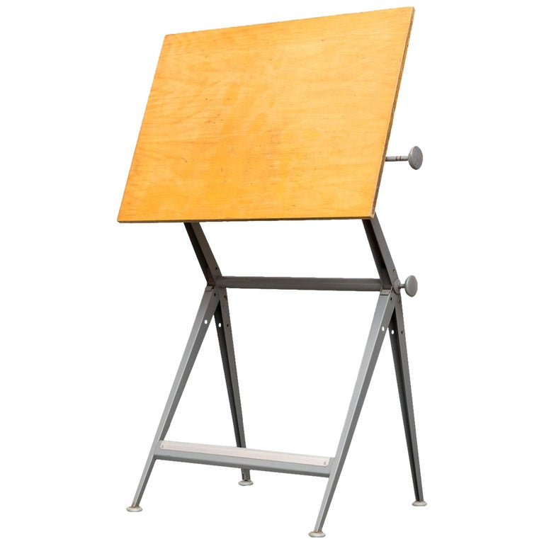 "Wim Rietveld & Friso Kramer ""Reply"" Drafting Table For Sale"
