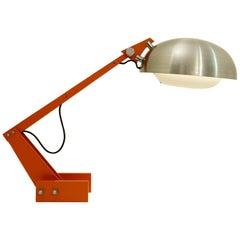 Wim Rietveld Industrial Desk Lamp, circa 1960