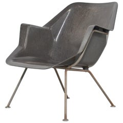 Wim Rietveld Polyester Lounge Chair 416 for Gispen, Netherlands