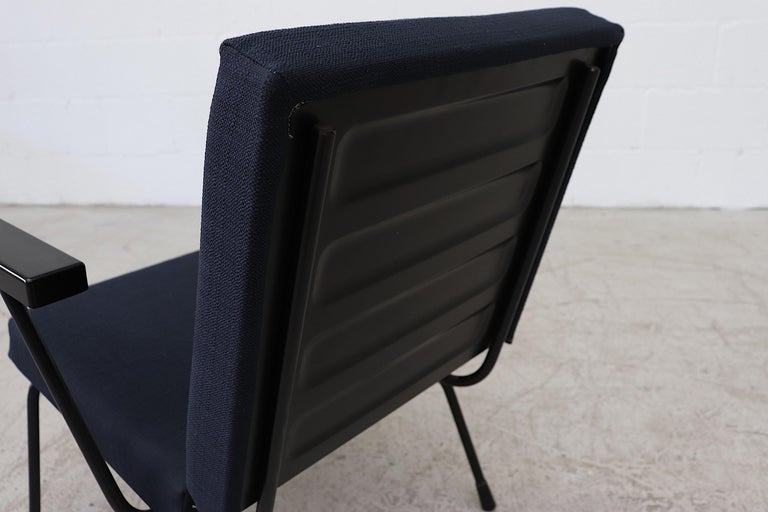 Wim Rietveld Model 1401 Lounge Chair for Gispen For Sale 2