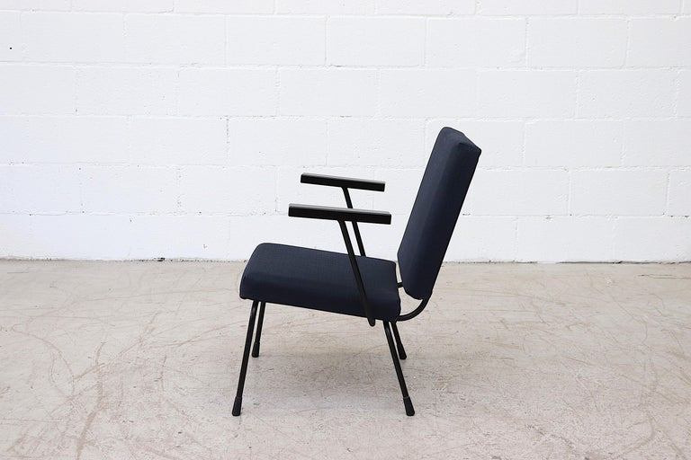Dutch Wim Rietveld Model 1401 Lounge Chair for Gispen For Sale
