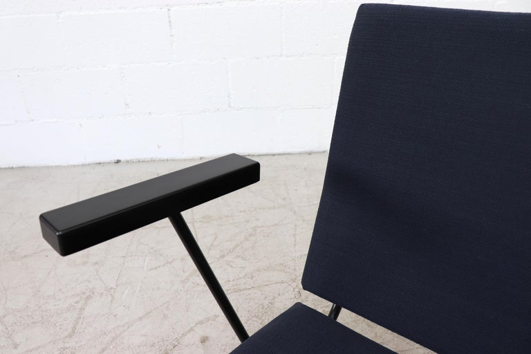 Mid-20th Century Wim Rietveld Model 1401 Lounge Chair for Gispen For Sale
