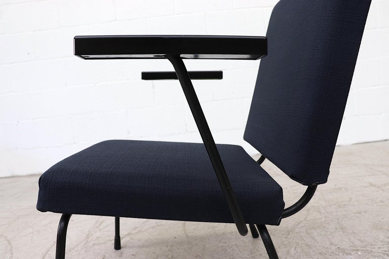Wim Rietveld Model 1401 Lounge Chair for Gispen For Sale 1