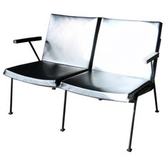 Wim Rietveld Oase Ahrend 2-Seat Sofa Very Rare Midcentury Design