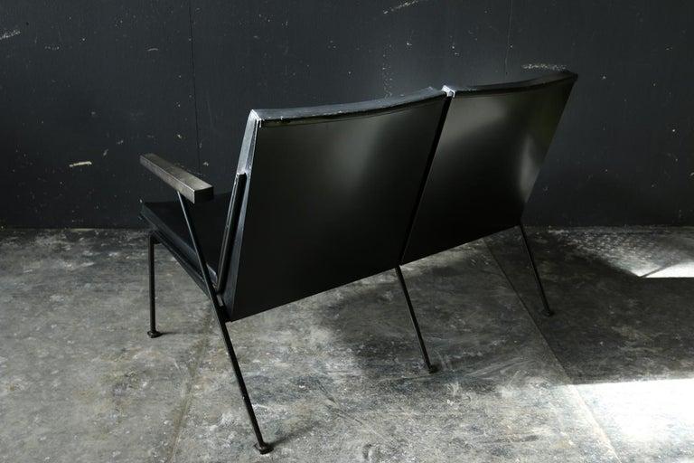 Mid-Century Modern Wim Rietveld Oase Ahrend 2-Seat Sofa Very Rare Midcentury Design For Sale