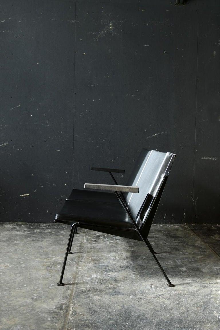 Wim Rietveld Oase Ahrend 2-Seat Sofa Very Rare Midcentury Design For Sale 1