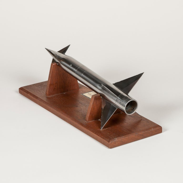 Wind Tunnel Model of a French Sounding Rocket In Good Condition For Sale In London, GB