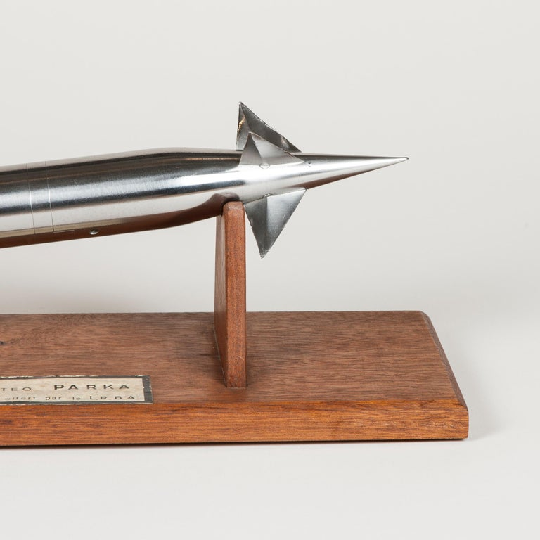 Wind Tunnel Model of a French Sounding Rocket For Sale 3