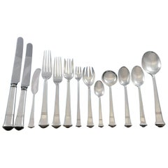 Windham by Tiffany and Co Sterling Silver Flatware Service Set 160 Pcs Dinner
