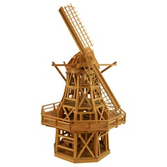 Windmill Wood Architectural Model