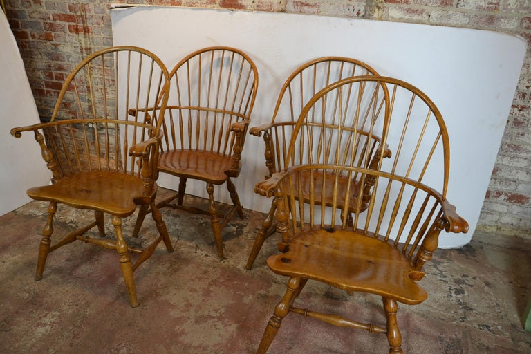 The chairs are signed by Rennick date 1953. Jack and Avery Rennick were both well-known furniture makers from 1920s to the 1940s when California custom-furniture was in high demand. Each of the Rennicks was known to have furnished entire estates of