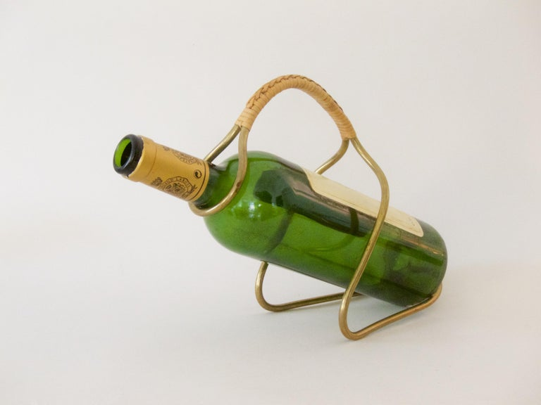 Sculptural wine server or bottle holder, no. 3601