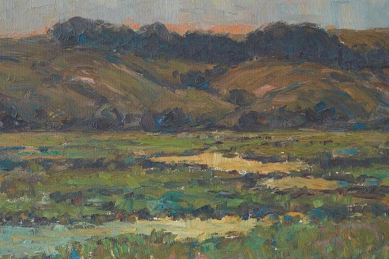 Sunrise Landscape Oil Painting For Sale 8